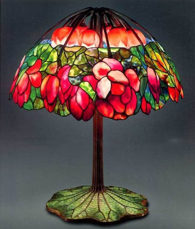 Most expensive light lamps in the world desert illusion table lamp pink lotus from tiffany aloadofball Gallery