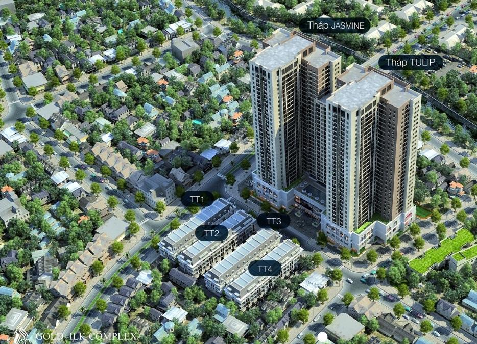 Dự án Goldsilk Complex Vạn Phúc - Hà Đông