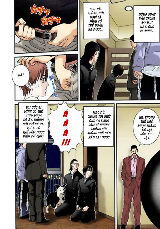 Gantz Chap 03: Cô gái khỏa thân tự sát trang 16