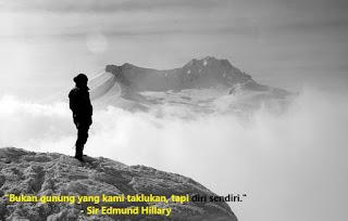 Kata-kata Pendaki Gunung Romantis Cocok Untuk Caption Instagram