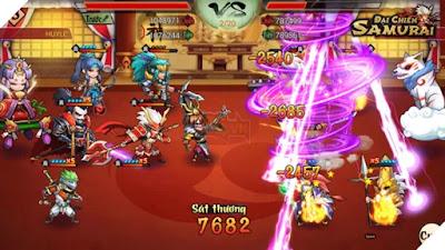 hack đại chiến samurai cho android