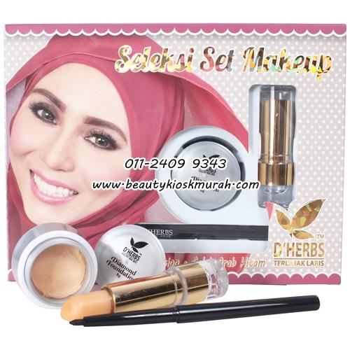 Seleksi Set Makeup D'Herbs