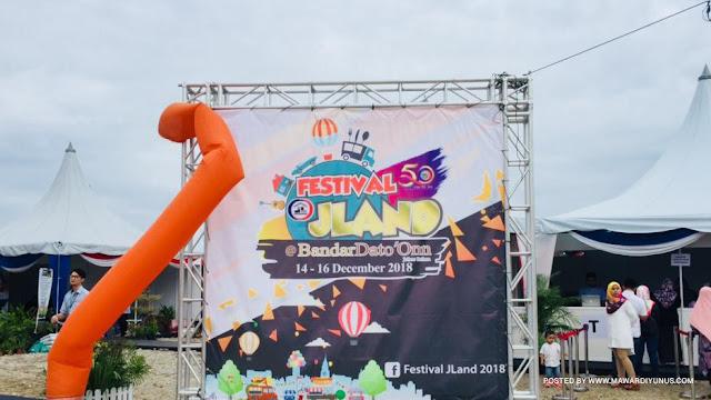 JOM BERAMAI-RAMAI MEMERIAHKAN FESTIVAL JLAND 2018 @BANDAR DATO' ONN