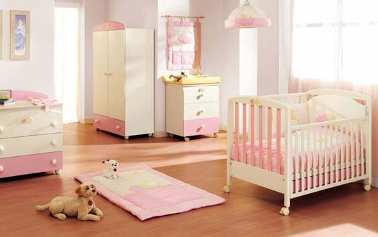 Ideas para pintar y decorar la habitaci n de una bebe - Pintar dormitorio bebe ...