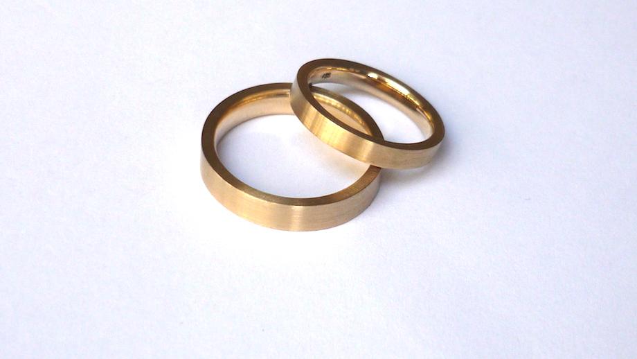 Trauringe hochzeit gold  Goldschmiede Kaya Wilbrandt Köln I Verlobungsringe Eheringe Trauringe