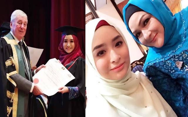 Anak Ziela Jalil Kini Bergelar Dr. Puteri Julia Nabilah Megat Junid