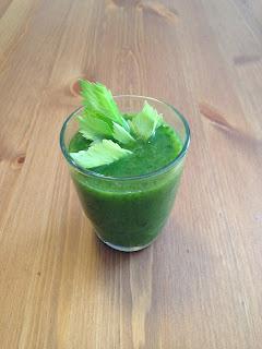 Zielony koktajl owocowo-warzywny I
