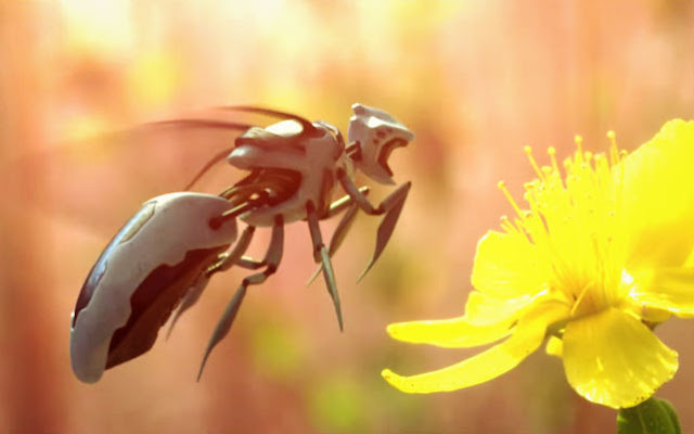 WATCH: Robotic Bees Can Replace Honey Bees In The Near Future