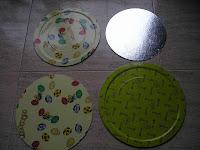platos y discos de cartón para uso alimentario