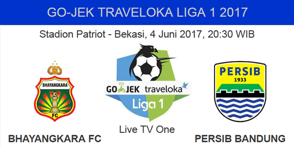 Bhayangkara FC vs Persib