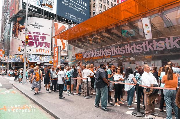 que hacer en Nueva York musical broadway