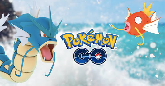 Novo Evento: Make a Splash with Pokémon Go!!