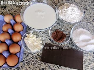 Prajitura desteapta cu ciocolata ingrediente reteta