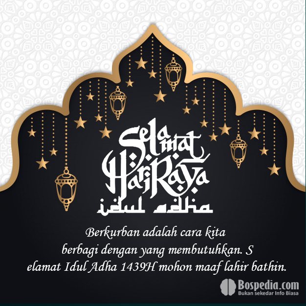 Kumpulan Kartu Ucapan Selamat Idul Adha 1440 H 2019