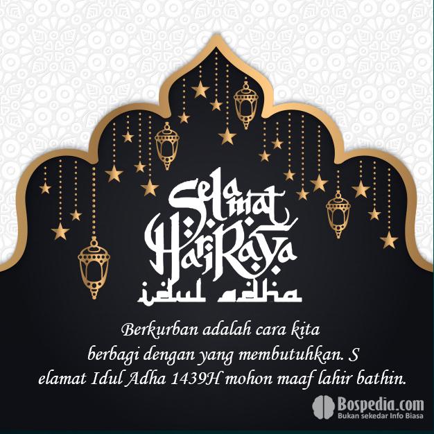 Template Kartu Ucapan Lebaran 2019 Atau Idul Fitri 1440 H ...