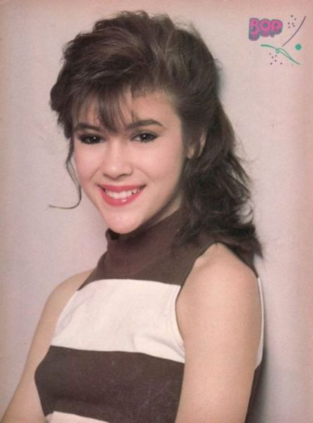 Alyssa Milano of the '90s ~ vintage everyday