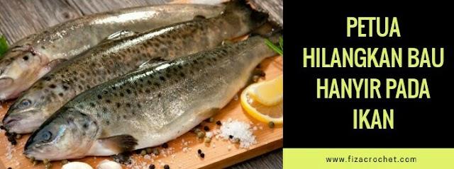 Cara hilangkan bau hanyir pada ikan dengan berkesan