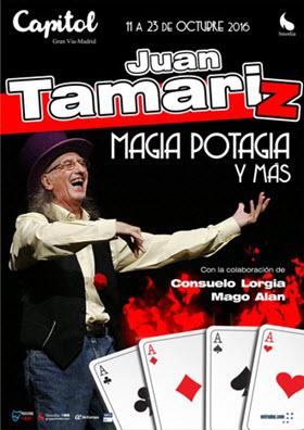 Magia potagia y más de Juan Tamariz en la Gran Vía