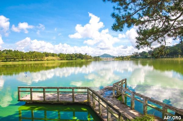 ảnh đẹp hồ Xuân Hương ở Đà Lạt