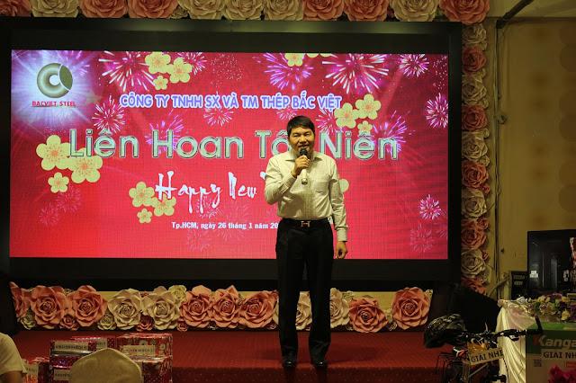 Ông Lê Xuân Cường - TGĐ Công ty Thép Bắc Việt