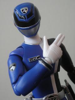 Bandai SH Figuarts Deka Blue Dekaranger Tamashii Nations Super Sentai