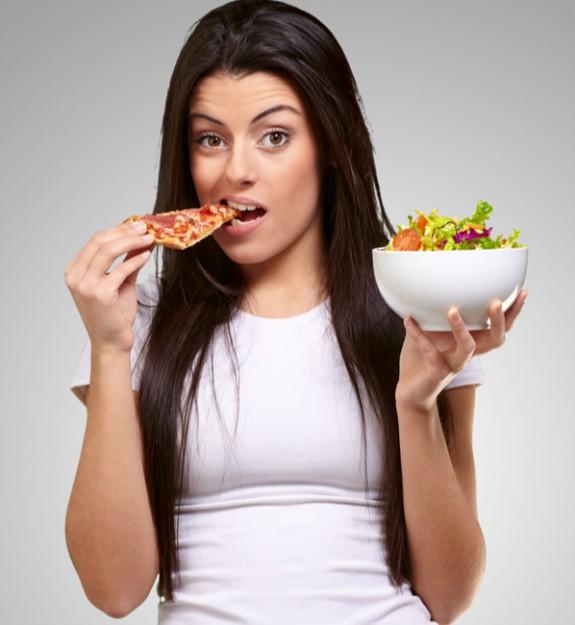 Χάσε βάρος τρώγοντας μόνο 5 μπουκιές από όλα τα αγαπημένα σου φαγητά