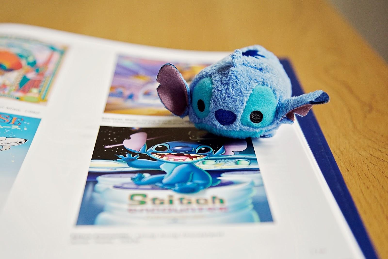Disney Stitch Tsum Tsum on top of Stitch image.