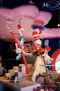 "pierre rouzier_Dr. Seuss Enterprises - ""cat in the hat"" sculpture [courtesy of  Sh-Boom Inc]"