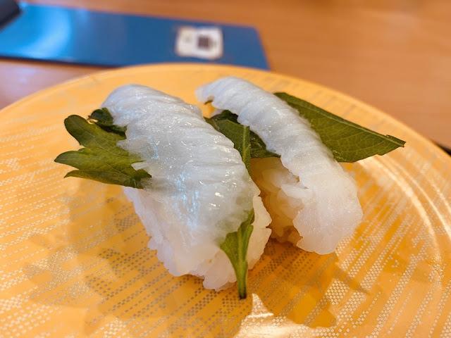 比目魚握壽司