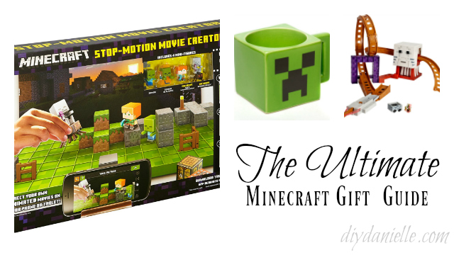 13+ Great Gift Ideas for Minecraft Fans | DIY Danielle