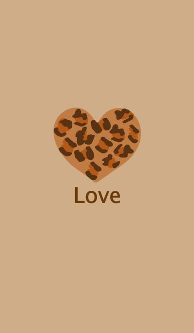 사랑의 심장 모양 표범