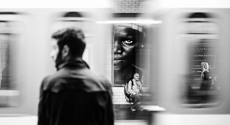 Street Photography by Geoffrey Greslin from France.