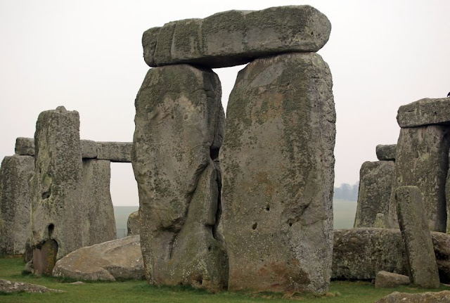 Stonehenge Images -Gray Skies at Stonehenge