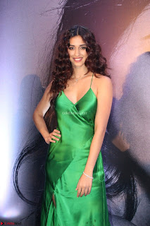 Disha Patani in Beautiful Green Gown at her App Launch 009.JPG