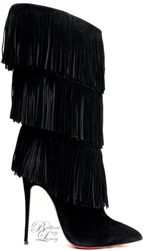 Brilliant Luxury ♦ Christian Louboutin Tinagrange