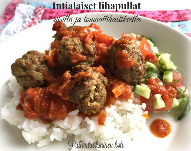 Intialaiset Lihapullat