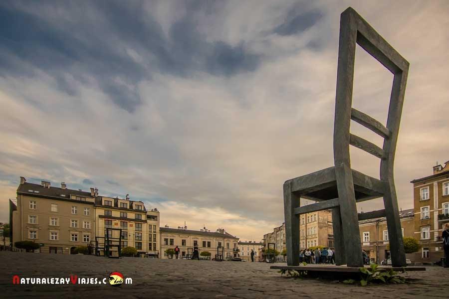 Plaza de los Héroes, Gueto de Cracovia