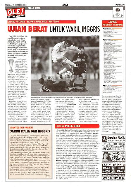 PUTARAN I BABAK II PIALA UEFA 1999/2000