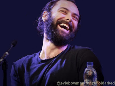 Aidan Turner, Poldark, MCM Comic Con, exclusive