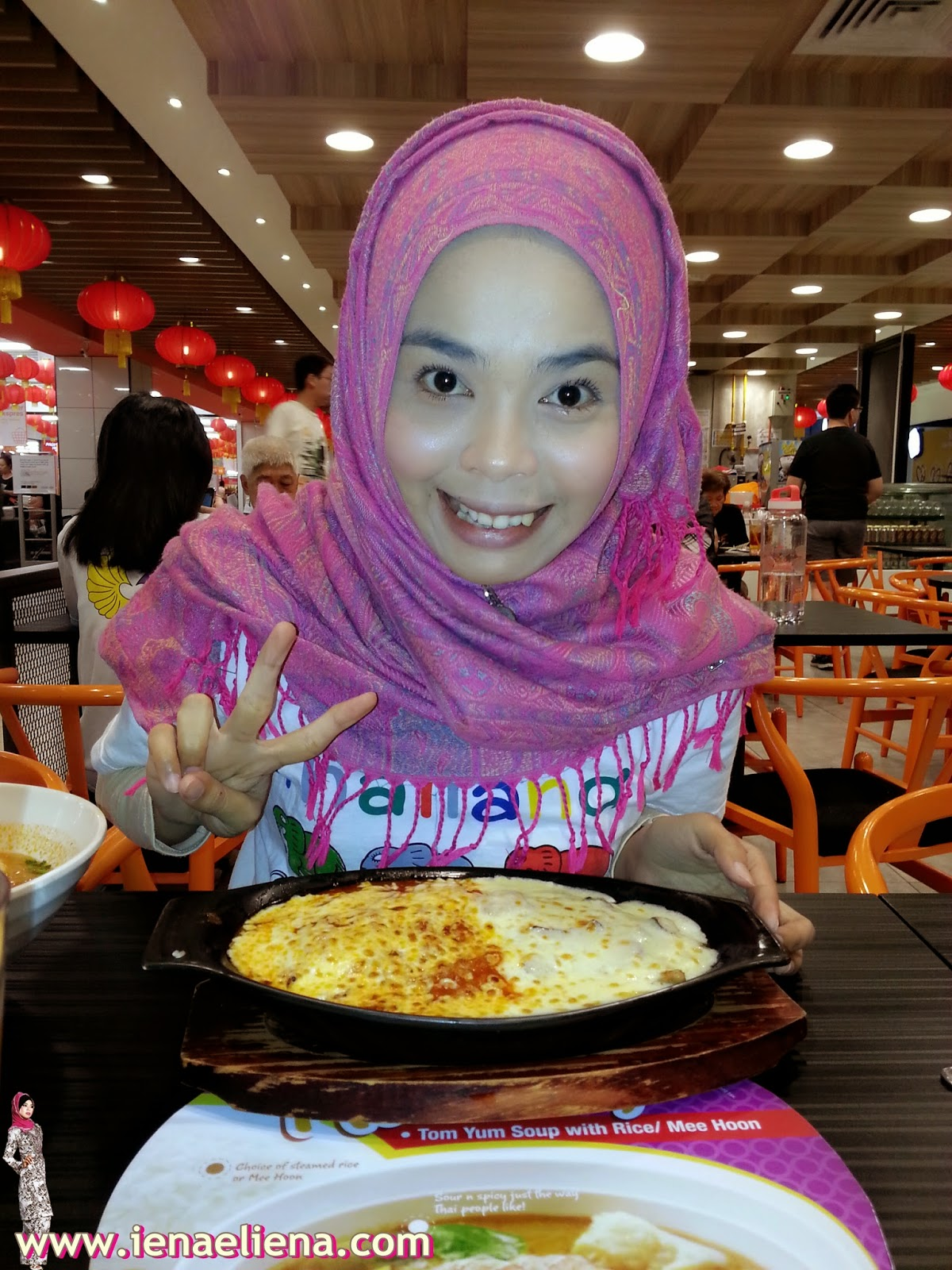 Dinner at Kungfu Bake Rice AEON Big Subang Jaya