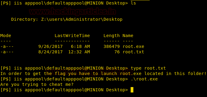 Hack the Box: Minion Walkthrough – MCYSECN-Maritime Cyber Security