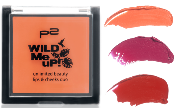 p2 wild me up UNLIMITED BEAUTY lips & cheeks duo