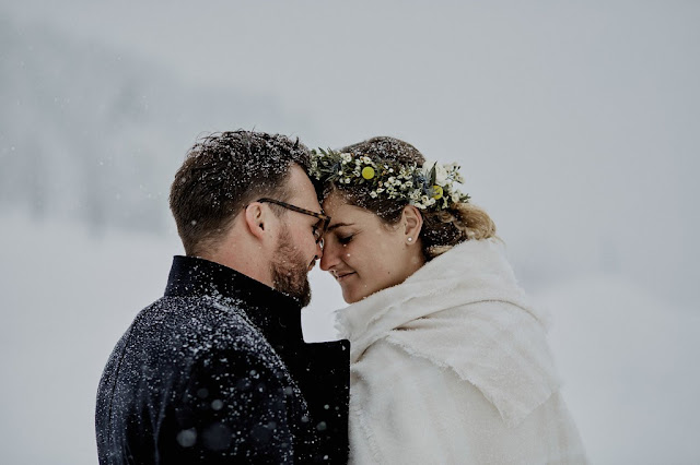Rock my world photography, photographe mariage Lyon, fleuriste mariage Lyon, winter wedding, flowercrown