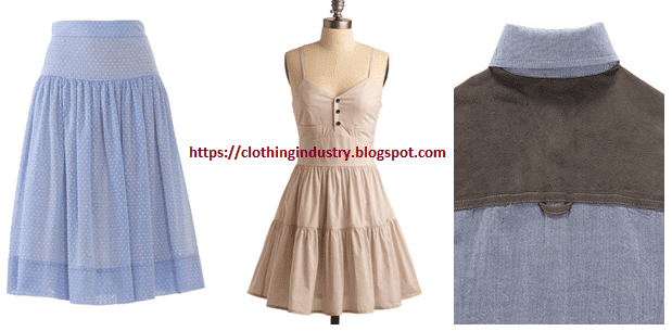 Different Types Of Yokes In Dresses Selection Of Yoke Design Clothing Industry