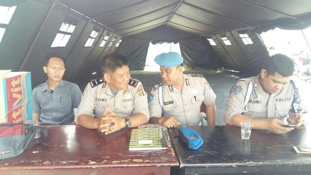 30 Personil Polisi Berjaga di Kantor KPU OKI
