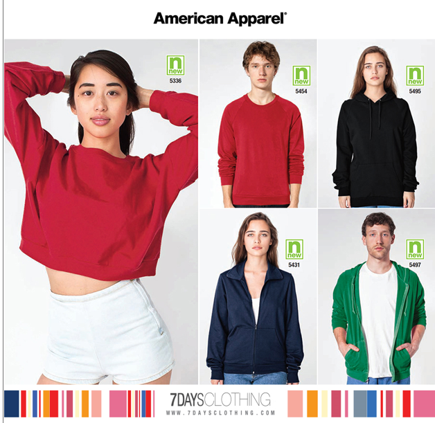 332758a5cb3 American Apparel is a well-known and one of the leading brand that makes  apparel locally. The company makes inexpensive trendy clothes for the urban  hipster ...