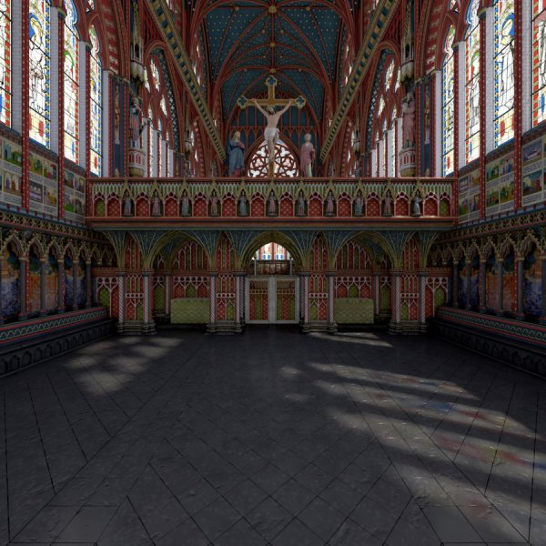 'Lost chapel' of Westminster Palace revealed in new 3-D model