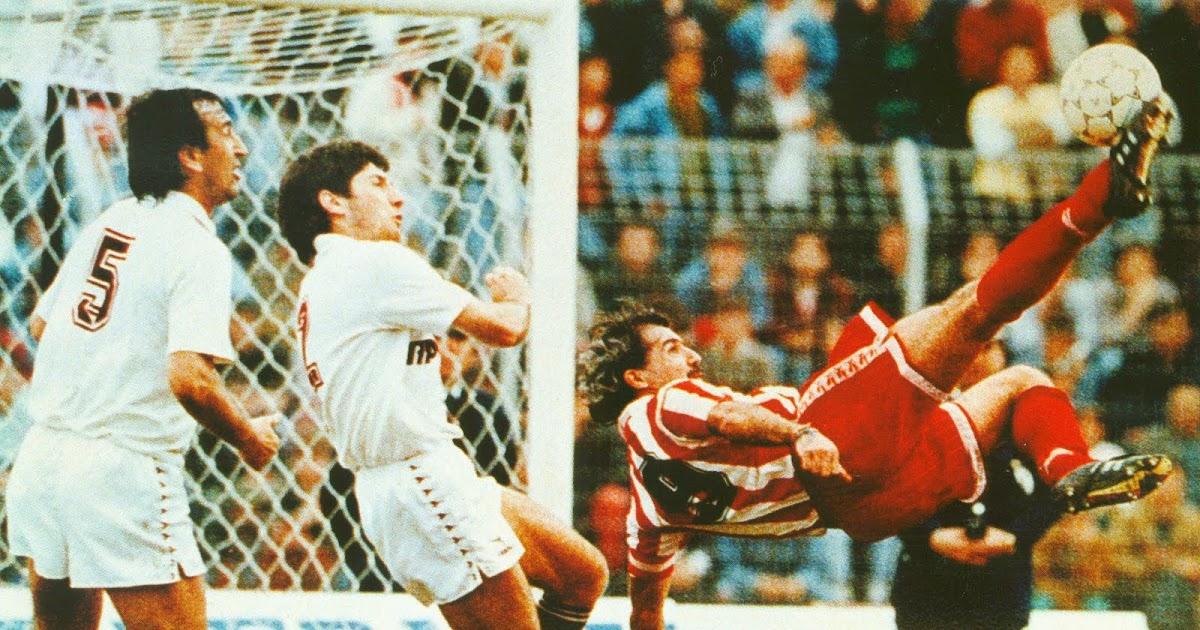 παοκ ολυμπιακοσ γκολ: ερυθρολευκο μετεριζι: ΣΑΝ ΣΗΜΕΡΑ ΤΟ 1991