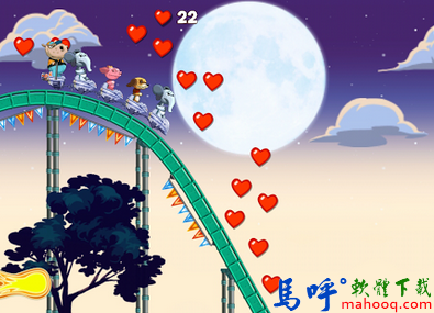 Nutty Fluffies Rollercoaster APK / APP Download,動物過山車手機遊戲下載,Android APP
