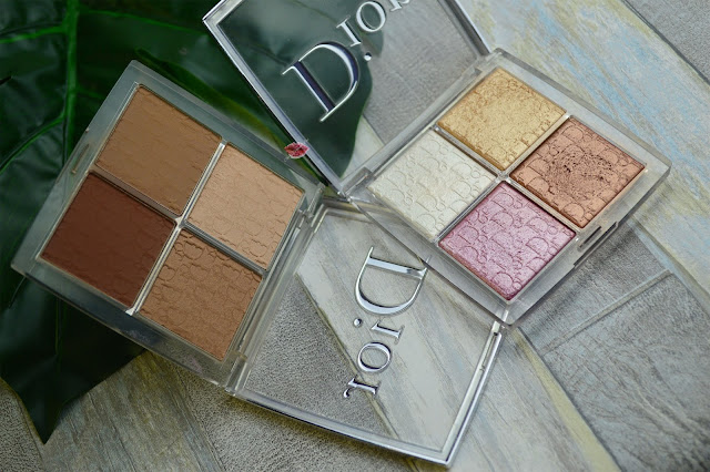 dior backstage, contour face palette, glow face palette; dioe makeuo, peter philips; glowy skin, highlighter, blush dior